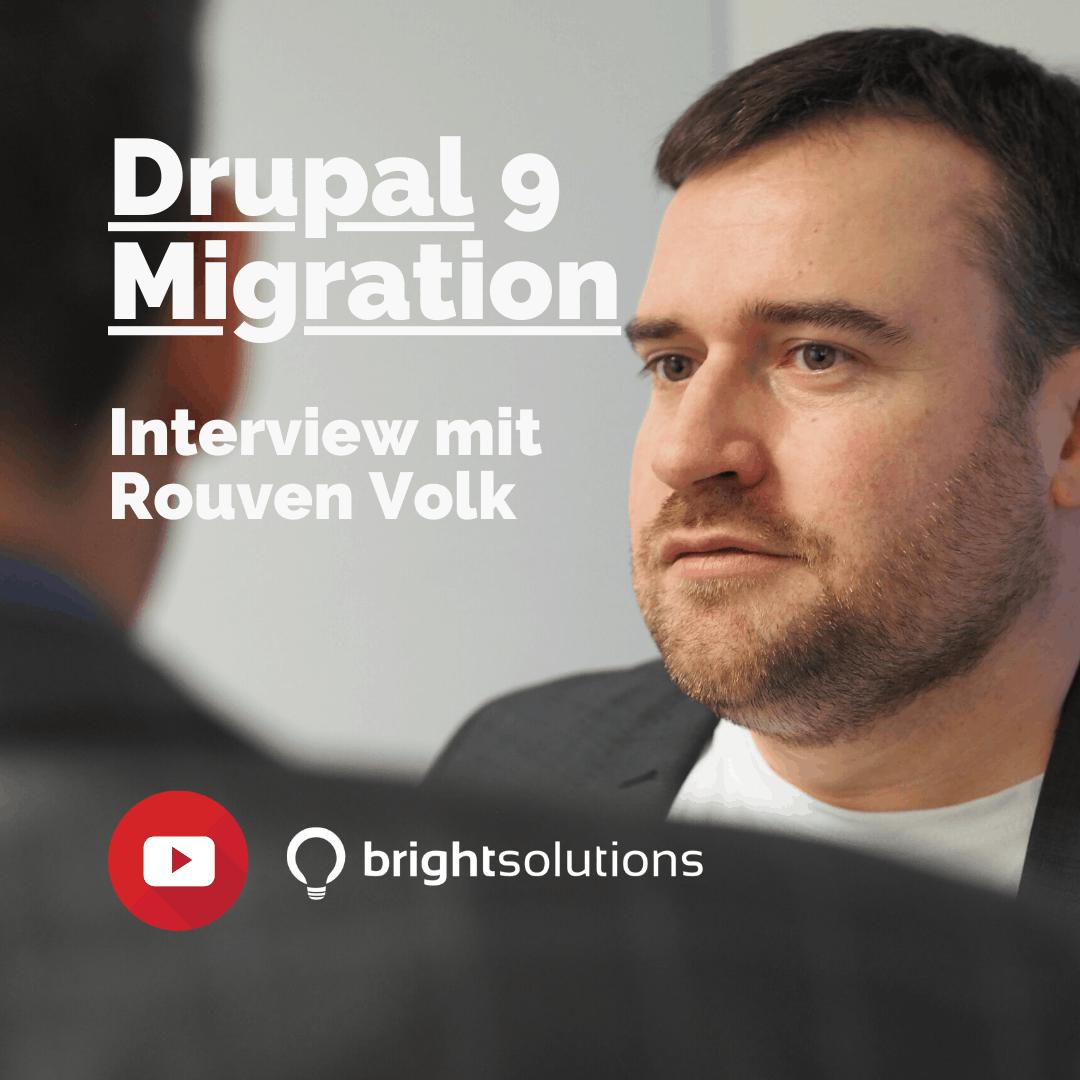 Drupal 9 Interview mit Rouven Volk