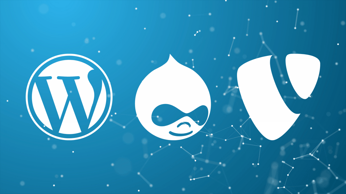 THUMB Drupal vs WordPress vs TYPO3